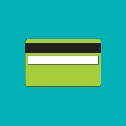 Michael Craig-Martin. Objects of our Time – Credit Card, 2014. From a series of 12 screenprints on 410 gsm Somerset Satin paper,