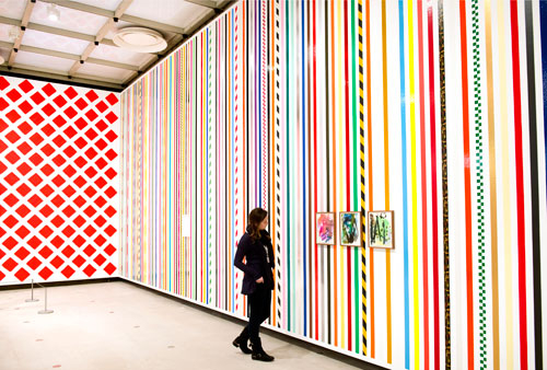 Martin Creed. What's the point of it, Hayward Gallery, 2014, installation view. Photograph: Linda Nylind.
