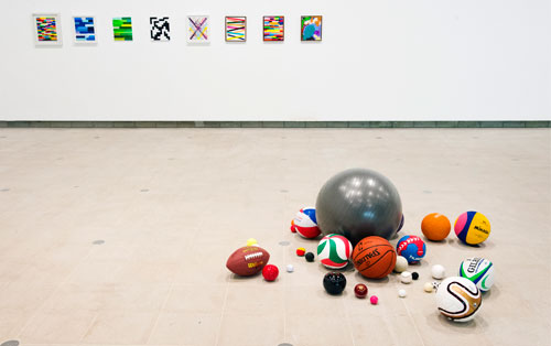 Martin Creed. What's the point of it, Hayward Gallery, 2014, installation view (2). Photograph: Linda Nylind.