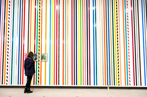 Martin Creed. Work No 1806, 2014. What's the point of it, Hayward Gallery, 2014, installation view. Photograph: Linda Nylind.
