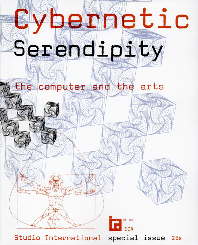 Cybernetic Serendipity: the computer and the arts. Edited by Jasia Reichardt. Published by Studio International (special issue), 1968. © Studio International Foundation.