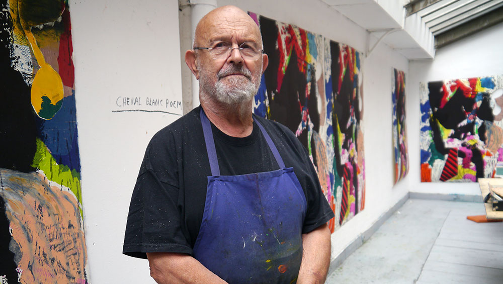 Jim Dine talks about his six-decade-long career, his various mediums of expression, his use of Pinocchio as a metaphor for art, and how he will never give up on a work