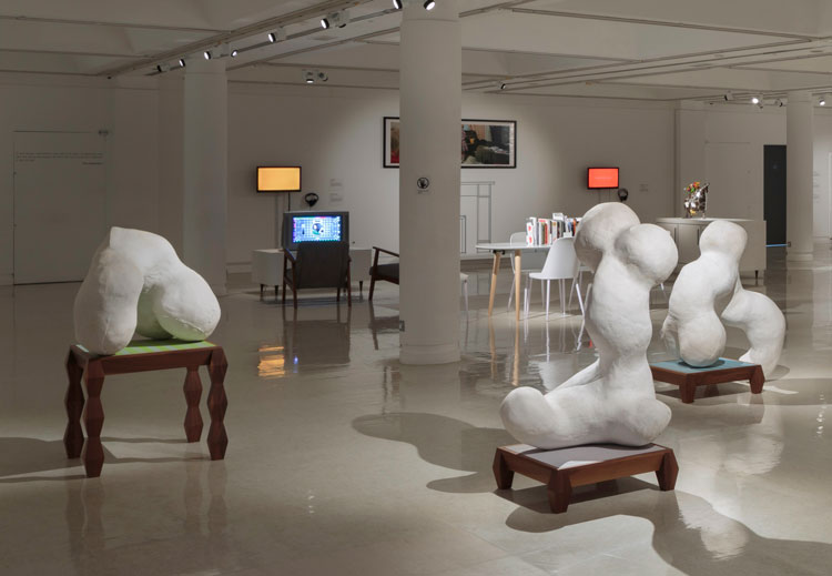 Domestic Bliss, installation view, Gallery of Modern Art, Glasgow. Photo: Ruth Clark.