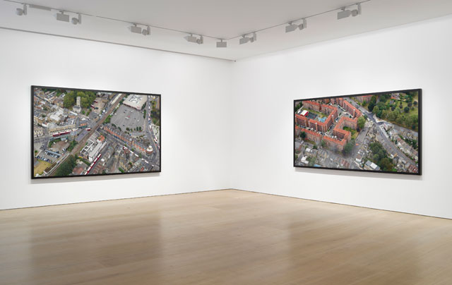 Installation view of Stan Douglas, 26 October – 20 December 2017, Victoria Miro Mayfair, London. © Stan Douglas. Courtesy the artist and Victoria Miro, London.