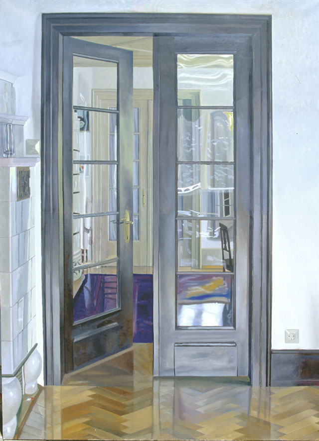 Peter Dreher. Freiburger Zimmer, 1985. Oil on canvas.