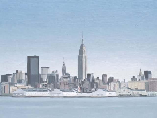 Peter Dreher. New York, 1980. Oil on canvas.