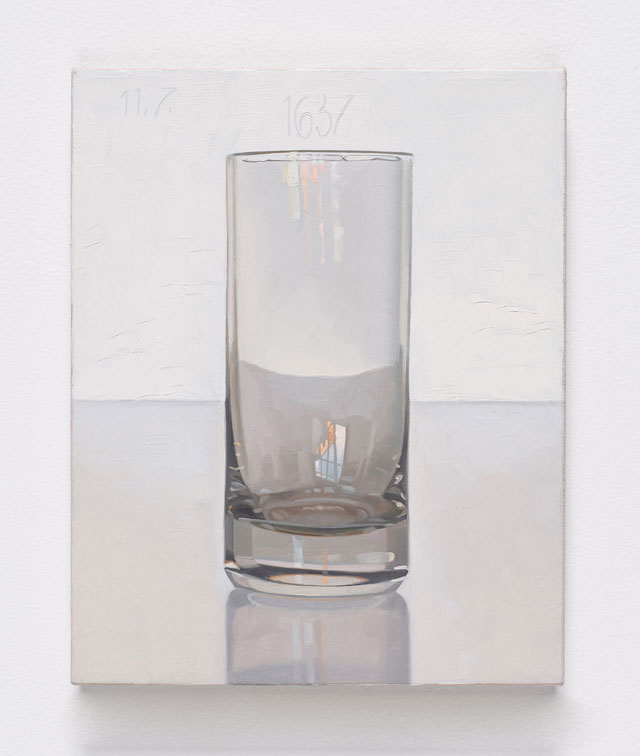 Peter Dreher. Tag um Tag guter Tag (Day by Day good Day) Nr. 1637 (Day), 1997.