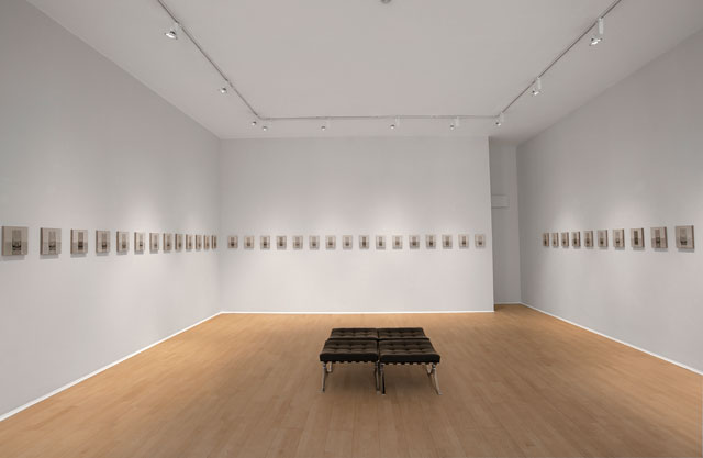 Peter Dreher: Day by Day, Good Day, installation view, Mayor Gallery, London, 2017.