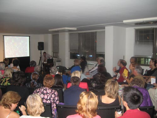 Dadadventure, September 9: Presentation made by Tom Sandqvist © Romanian Cultural Institute New York.