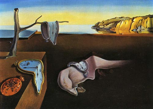 Salvador Dalí. <em>The Persistence of Memory</em>, 1931. Oil on canvas, 24.1 x 33 cm. Museum of Modern Art, New York ã Salvador Dalí. Fundació Gala-Salvador Dali, DACS, 2007