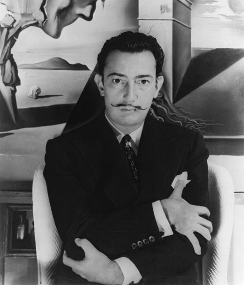 Salvador Dal&iacute;. <em>Salvador Dali on the set of the film &lsquo;Spellbound&rsquo; </em>&atilde; Source: BFI Image Rights of Salvador Dal&iacute; reserved. Fundaci&oacute; Gala-Salvador Dali, Figueres, 2007
