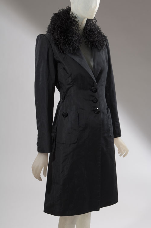 Coat by Valentino. From the collection of Daphne Guinness, to be featured in the exhibition <em>Daphne Guinness</em>. Photograph courtesy The Museum at FIT.