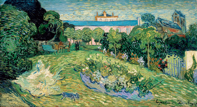 Vincent van Gogh. Daubigny's Garden, 1890. Basel, Collection R. Staechelin.