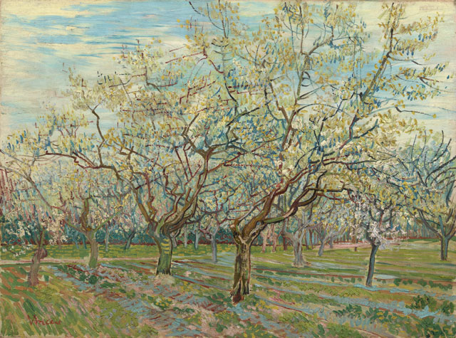 Vincent van Gogh. The white orchard, 1888. Van Gogh Museum, Amsterdam (Vincent van Gogh Foundation).