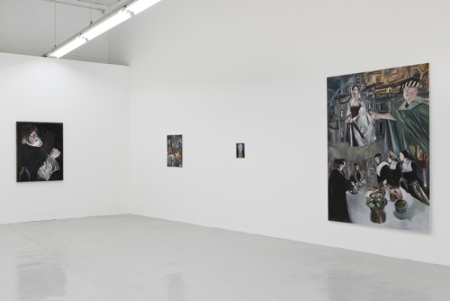 Nathan Cash Davidson: Thou annointest my head with oil, Hannah Barry Gallery, London, 18 June – 27 July 2015. Installation view.