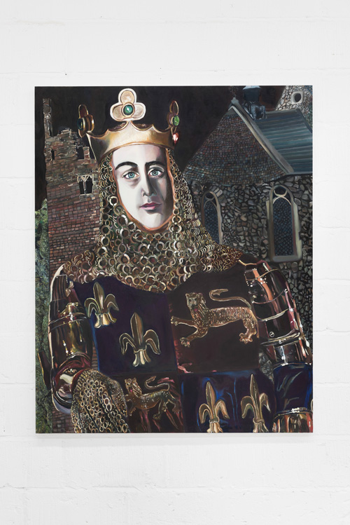 Nathan Cash Davidson. Richard II, 2011-12. Oil on board, 152 x 122 cm. © the artist.