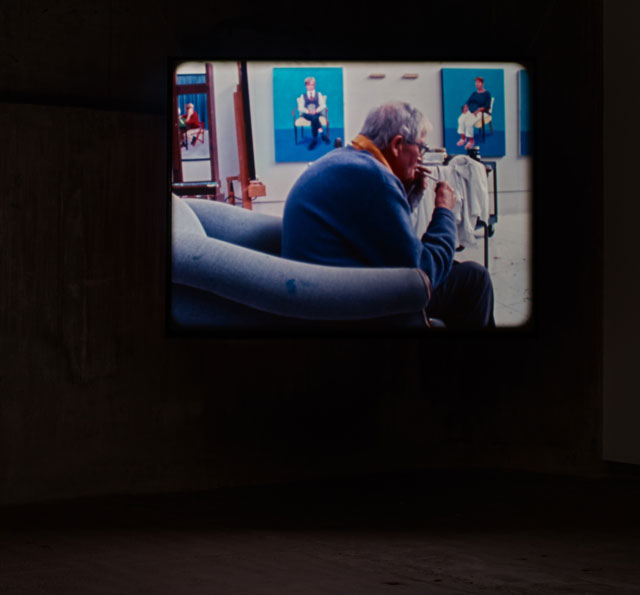 Tacita Dean. Portraits, 2016. 16 mm colour film, optical sound, 16 min. Courtesy Frith Street Gallery, London. Photograph: Stephen White.