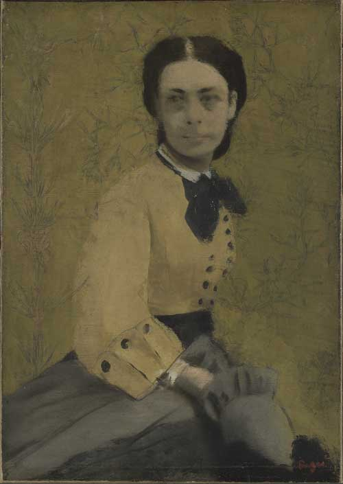 Degas, Hilaire-Germain-Edgar (1834-1917), Princess Pauline de Metternich, 