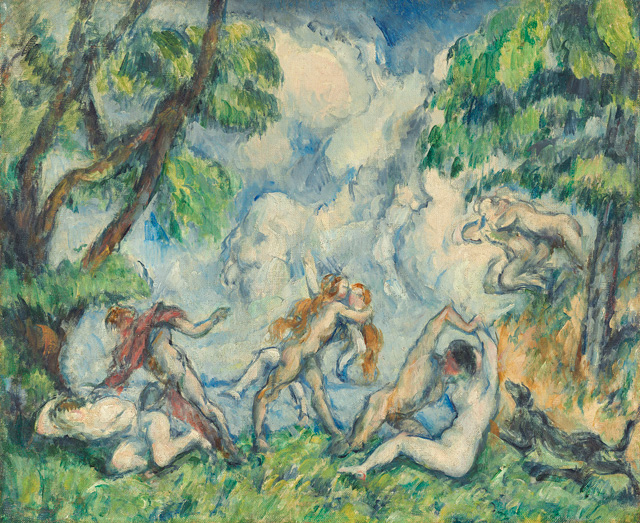 Paul Cézanne. The Battle of Love, c1880. Oil on canvas, 38.1 x 45.7 cm. National Gallery of Art, Washington, DC. Gift of the W. Averell Harriman Foundation in memory of Marie N. Harriman. Image courtesy of the Board of Trustees, National Gallery of Art, Washington, DC.