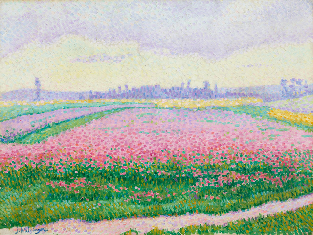 Jean Metzinger. Field of Flowers in Bloom, near Caen, 1904. Oil on canvas, 44.1 x 59.7 cm. The Minneapolis Institute of Art. Gift of Anne Dalrymple Hull. © ADAGP, Paris and DACS, London 2015. Photograph: © The Minneapolis Institute of Art.