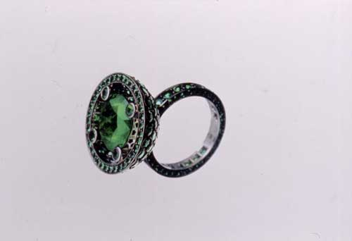 Solange Azagury-Partridge, Boucheron emerald ring, 2002