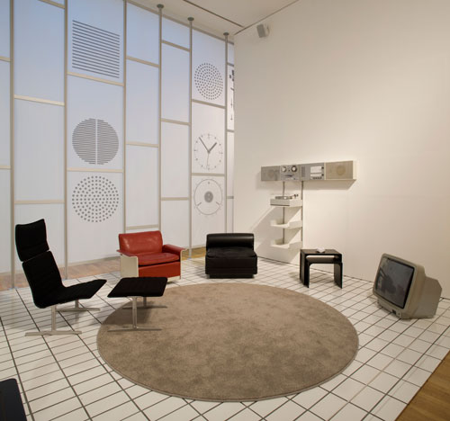 Less and More – The Design Ethos of Dieter Rams. Installation view, Design Museum, 2009. Photo: Luke Hayes.
