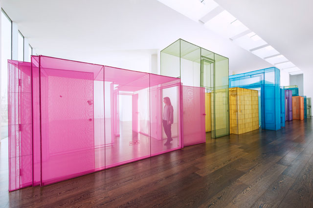 Do Ho Suh. Passage/s, installation view, 2017, Victoria Miro Gallery II, London. Courtesy the artist, Lehmann Maupin, New York and Hong Kong, and Victoria Miro, London. Photograph: Thierry Bal. © Do Ho Suh.