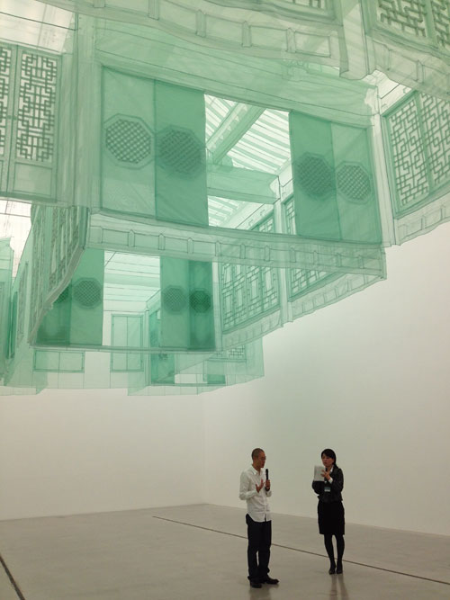 Do Ho Suh. Seoul Home / Seoul Home / Kanazawa Home, 2002-12. Collection of the artist. © Do Ho Suh.