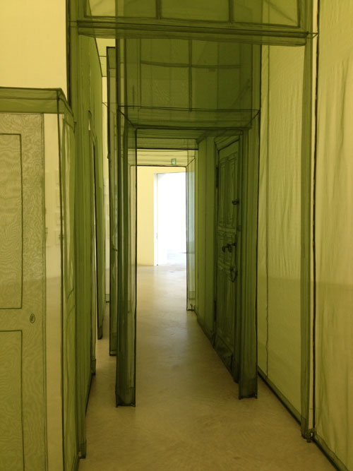 Do Ho Suh. Wielandstr. 18, 12159, Berlin, Germany-3 Corridors, 2011.