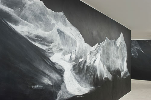 Tacita Dean. <i>Fatigues</i>, 2012. Chalk on blackboard, 6 panels. Courtesy the artist; Frith Street Gallery, London; Marian Goodman Gallery, New York, Paris. Commissioned and co-produced by dOCUMENTA (13); the artist; Marian Goodman Gallery, New York, Paris; Frith Street Gallery, London, Spohrstr. 7 (Ex-Finance Building), Photograph: Nils Klinger.