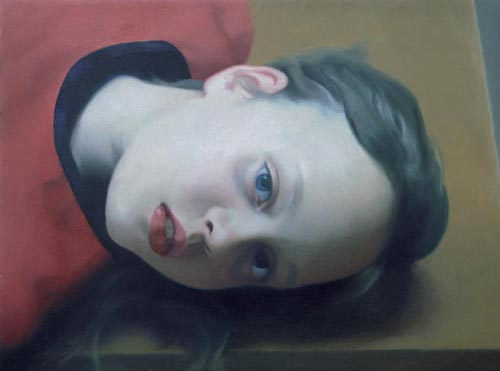 Gerhard Richter, <em>Betty</em>, 1977. Painting, oil on wood © Gerhard Richter.