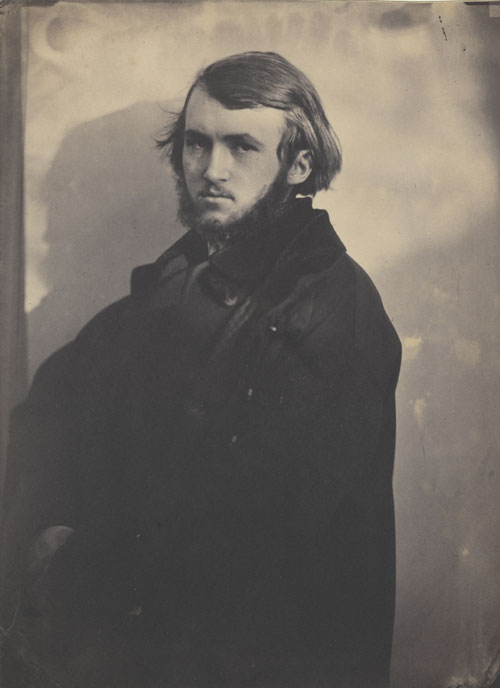 Adrien Tournachon (1825-1903). Gustave Doré barbu, vers 1854. Photographie, 23,3 x 17 cm. Paris, Bibliothèque nationale de France, département des Estampes et de la Photographie. © Bibliothèque Nationale de France.