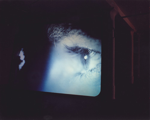 Douglas Gordon. <em>24 Hour Psycho</em>, 1993. Video installation, dimensions variable &copy; Douglas Gordon. From Psycho, 1960, directed by Alfred Hitchcock, Universal Studios &copy; Universal.