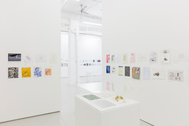 Drawing Biennial 2017, The Drawing Room, London, installation view.