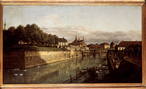 Bernardo Bellotto, <i>The Moat of the Zwinger in Dresden</i>, between 