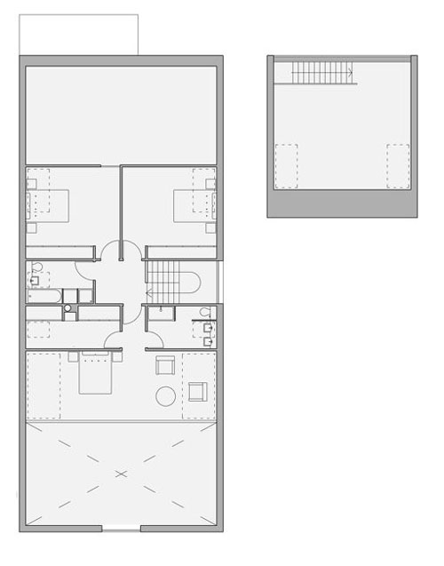 "Drummond House, ""The Shed"", Meigle. First Floor Plan."
