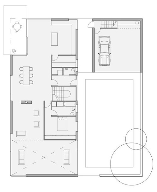 "Drummond House, ""The Shed"", Meigle. Ground Floor Plan."