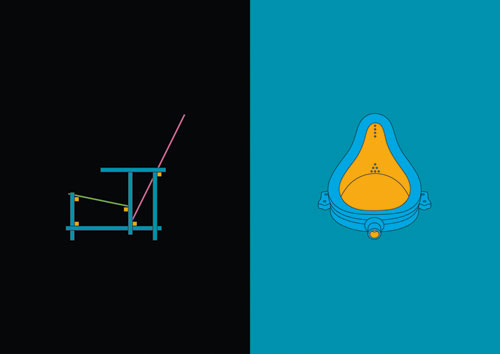 Michael Craig-Martin. Art & Design, 1917-2013. Courtesy the artist and The Fine Art Society.