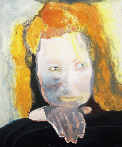 Marlene Dumas. Evil is Banal, 1984. Collection Van Abbemuseum, Eindhoven, The Netherlands. © Marlene Dumas. Photograph: Peter Cox, Eindhoven, The Netherlands.