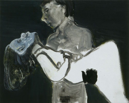 Marlene Dumas. The Image as Burden, 1993. Private collection, Belgium. © Marlene Dumas. Photograph: Peter Cox.