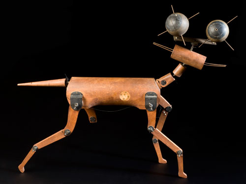 Model of a cat to test reflexes. © Science Museum