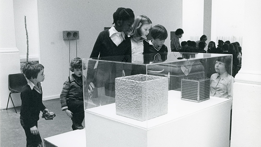Drawing on archival material, this fascinating exhibition looks at the Whitechapel Gallery's pioneering role in setting up an education department and engaging with its local schools and communities