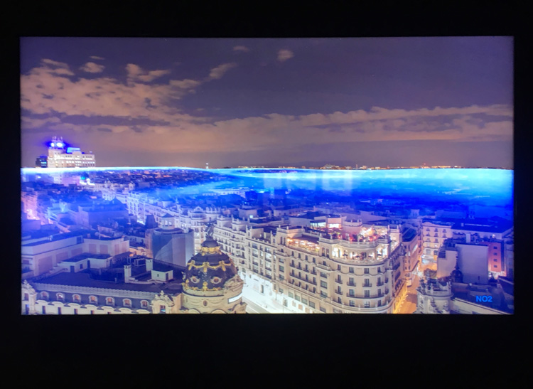 Nerea Calvillo's video Madrid In the Air: 24 hours, 2019. Photo: Veronica Simpson.