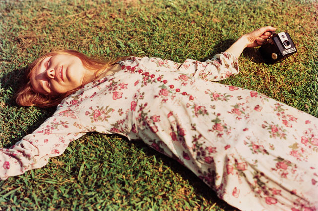 William Eggleston. Untitled, c1975 (Marcia Hare in Memphis Tennessee). © Eggleston Artistic Trust.