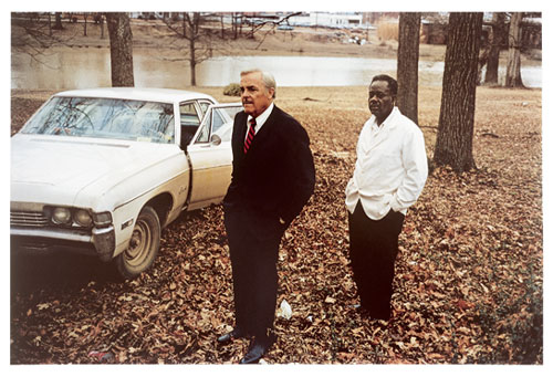 William Eggleston. Untitled (Sumner, Mississippi, Cassidy Bayou in background), 1971. © Eggleston Artistic Trust.
