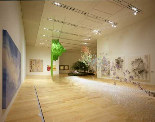 <i>Installation view: The Elegance of Silence: Contemporary Art From 