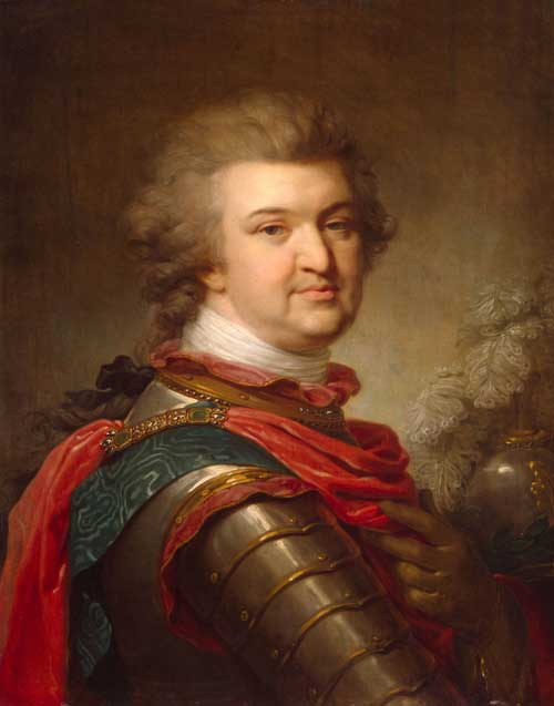 Prince Grigory Potemkin. By Johann Baptist Lampi the Elder (1751-1830). Austrian, c1790. Oil on canvas.