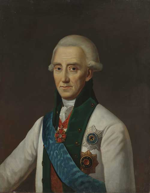 Admiral Samuel Greig. By an unknown artist, 19th century. Oil on canvas.