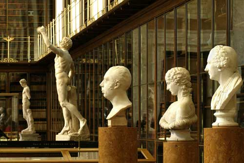 The Enlightenment Gallery at the British Museum. Copyright British 