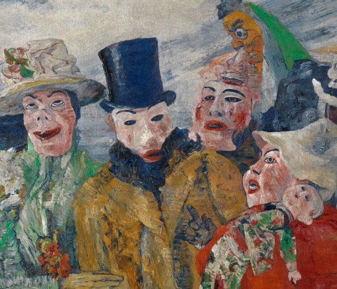 Ensor's star has remained dim in the UK. This small exhibition of his works, selected by fellow Belgian and lifelong admirer Tuymans, establishes Ensor as a major figure of his era